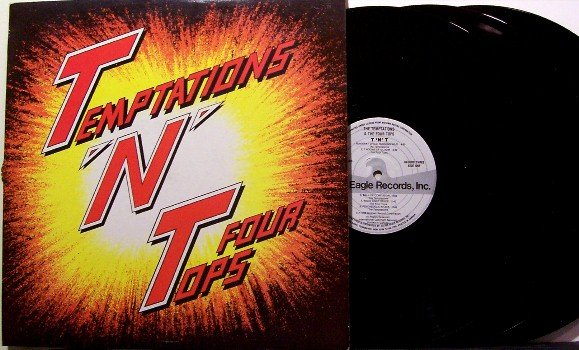 Temptations & Four Tops - TNT - Vinyl 3 LP Record Set - Greatest Hits - 4 Tops - R&B SOul
