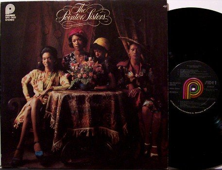 Pointer Sisters - Self Titled - Vinyl LP Record - R&B Soul