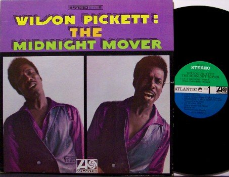 Pickett, Wilson - The Midnight Mover - Vinyl LP Record - R&B Soul