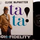 McPhatter, Clyde - Ta Ta - Vinyl LP Record - Mono - Mc Phatter - Tata - R&B Soul