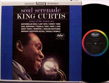 King Curtis - Soul Serenade - Vinyl LP Record - R&B Soul Jazz