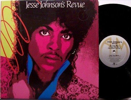 Johnson, Jesse - Jesse Johnson's Revue - Vinyl LP Record - Jessie - R&B Soul