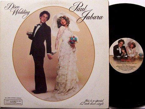 "Jabara, Paul - Disco Wedding - Promo 12"" Vinyl Single - 1979 - R&B Disco"