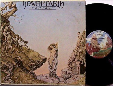 Heaven & Earth - Fantasy - Vinyl LP Record - 70s Chicago Vocal Funk - R&B Soul
