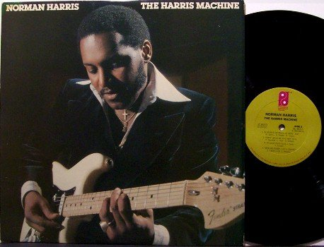 Harris, Norman - The Harris Machine - Vinyl LP Record - MFSB - Philadelphia R&B Soul
