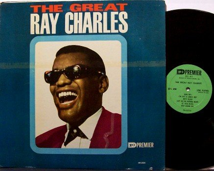 Charles, Ray - The Great Ray Charles - Vinyl LP Record - Mono - R&B Soul