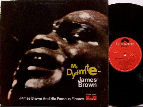 Brown, James - Mr. Dynamite - German Pressing - Vinyl LP Record - Mr - R&B Soul