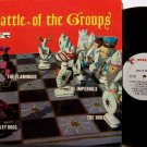Battle Of The Groups - Vinyl LP Record - 1960 End R&B Soul Doo Wop - The Dubs, Flamingos, etc