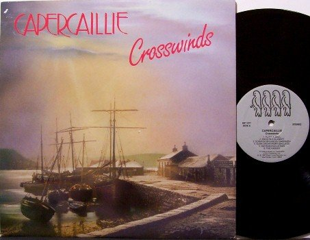 Capercaillie - Crosswinds - Vinyl LP Record - with Insert - Irish Celtic - Folk