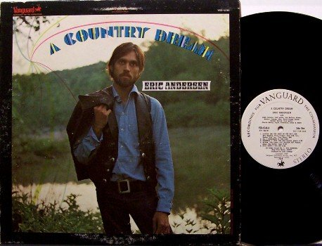 Anderson, Eric - A Country Dream - Vinyl LP Record - White Label Promo - 1969 - Folk