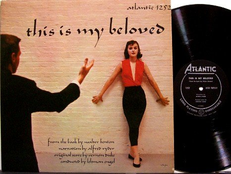 This Is My Beloved - Vinyl LP Record - Atlantic Mono - Walter Benton - Weird Unusual
