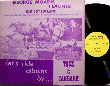 Tack & Tanbark - Let's Ride Album - Vinyl LP Record - Horse Training Equestrian - Weird Unusual
