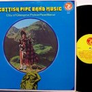 Scottish Pipe Band Music - Vinyl LP Record - Bagpipes - Military