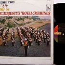 Royal Marines, The Sound Of Her Majesty's - Vinyl LP Record - Marching Band Military