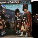 Royal Highland Regiment Pageantry - Vinyl LP Record - Marching / Bagpipes Military