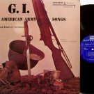 Brand, Oscar - G.I. American Army Songs - Vinyl LP Record - GI - Military