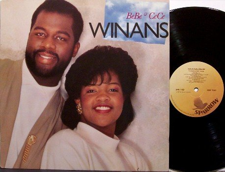 Winans, Bebe & Cece - Self Titled - VInyl LP Record - 1987 Contemporary Christian