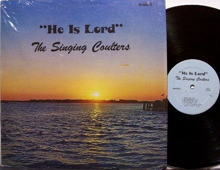 Singing Coulters, The - He Is Risen - Vinyl LP Record - Tennessee Gospel