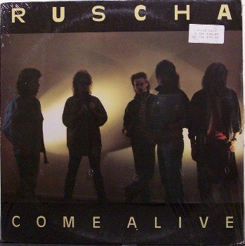 Ruscha - Come Alive - Sealed Vinyl LP Record - 80's Private Xian Rock