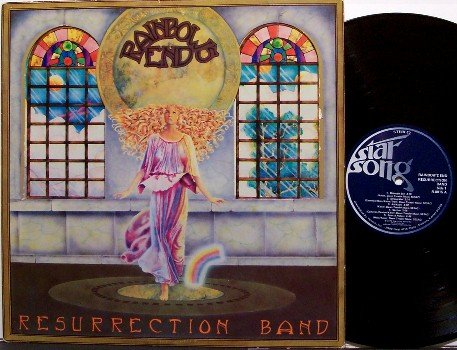 Resurrection Band - Rainbow's End - Vinyl LP Record - Rainbows - Xian Psych Rock