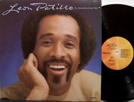 Patillo, Leon - I'll Neber Stop Lovin' You - Vinyl LP Record - Contemporary Christian