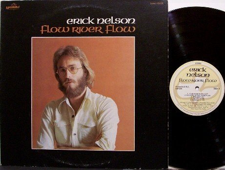 Nelson, Erick - Flow River Flow - Vinyl LP Record + Insert - Eric - 70's Contemporary Christian