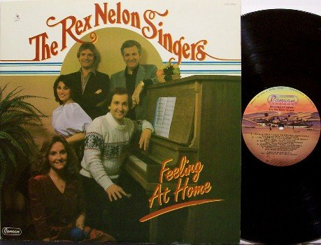 Nelon, Rex Singers The - Feeling At Home - Vinyl LP Record - Christian Gospel