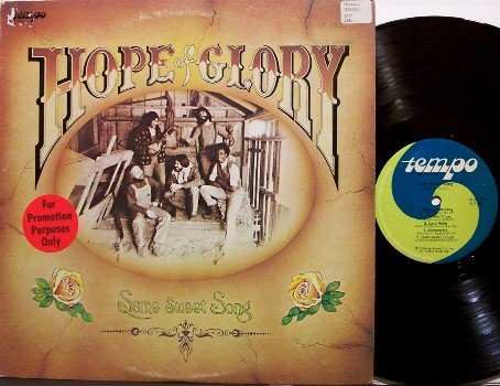 Hope Of Glory - Same Sweet Song - Vinyl LP Record - Promo - 70's Christian Rock