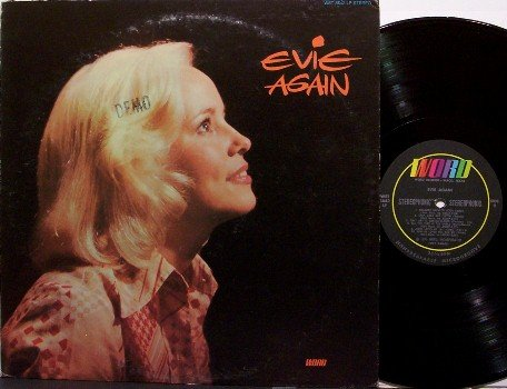 Evie - Again - Vinyl LP Record - Contemporary Christian