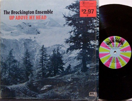 Brockington Ensemble, The - Up Above My Head - Vinyl LP Record - 70's Spiritual Gospel