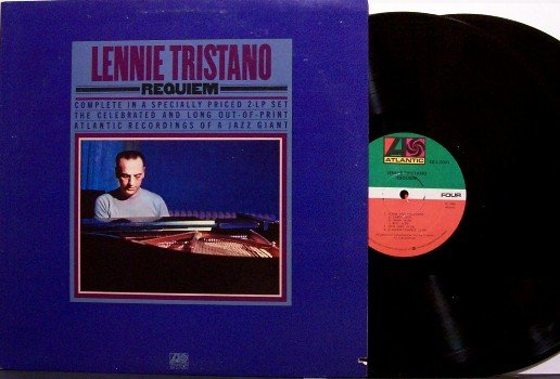 Tristano, Lennie - Requiem - Vinyl 2 LP Record Set - Complete Atlantic Recordings - Jazz