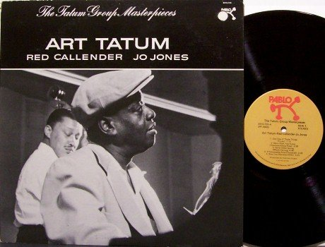 Tatum, Art - Group Masterpieces - Vinyl LP Record - Red Callender / Jo Jones - Jazz