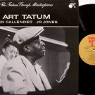 Tatum, Art - Group Masterpieces - Vinyl LP Record - Red Callender / Jo Jones - Jazz