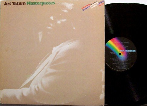 Tatum, Art - Masterpieces - Vinyl 2 LP Record Set - Jazz