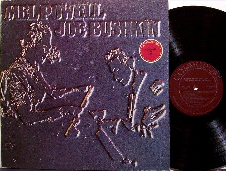 Powell, Mel & Joe Bushkin - The World Is Waiting - Vinyl LP Record - Promo - Commodore Jazz