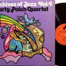 Paich, Marty Quartet - Archives Of Jazz Volume 9 - Vinyl LP Record