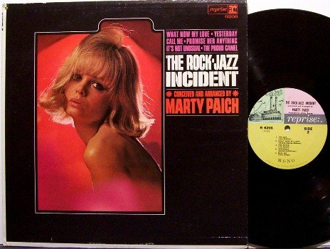 Paich, Marty - The Rock Jazz Incident - Vinyl LP Record - Mono