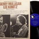 Mulligan, Gerry & Lee Konitz - Revelation - Vinyl 2 LP Record Set - Blue Note Jazz