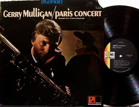 Mulligan, Gerry - Paris Concert - Vinyl LP Record - Live - Pacific Jazz