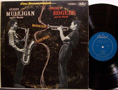 Mulligan, Gerry & Shorty Rogers - Modern Sounds - Vinyl LP Record - Mono - Jazz