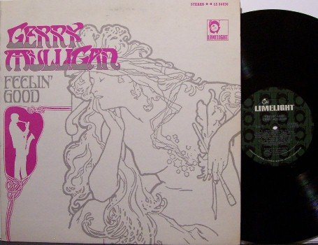 Mulligan, Gerry - Feelin' Good - Vinyl LP Record with Booklet - Feelin Feeling - Stereo - Jazz