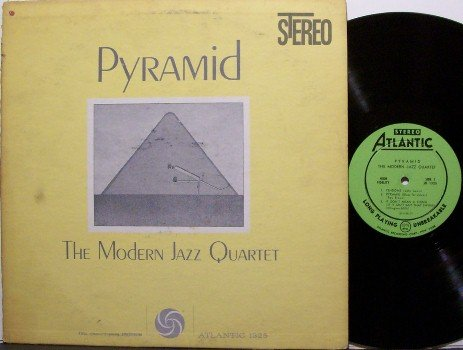 Modern Jazz Quartet, The - Pyramid - Vinyl LP Record - MJQ - Jazz
