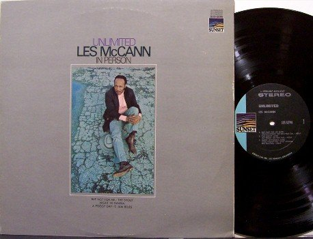 McCann, Les - Unlimited - Vinyl LP Record - Mc Cann - Jazz
