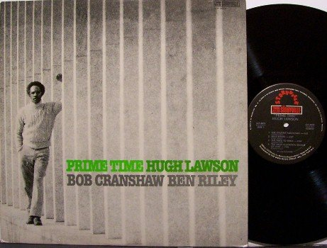 Lawson, Hugh - Prime Time - Vinyl LP Record - Bob Cranshaw / Ben Riley - New York Jazz