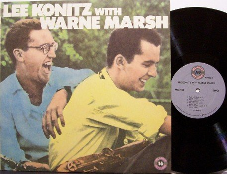 Konitz, Lee With Wayne Marsh - Vinyl LP Record - Jazz