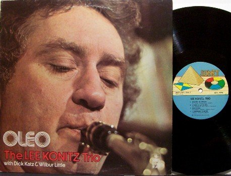 Konitz, Lee Trio - Oleo - Vinyl LP Record - Jazz