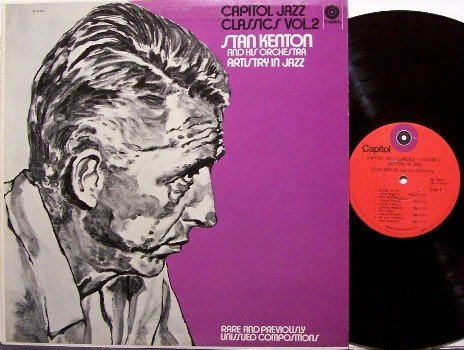 Kenton, Stan - Artistry In Jazz - Vinyl LP Record