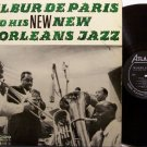De Paris, Wilbur - & His New New Orleans Jazz - Vinyl LP Record - Deparis - Mono - Atlantic Jazz
