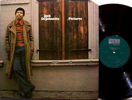 DeJohnette, Jack - Pictures - Vinyl LP Record - De Johnette - Jazz