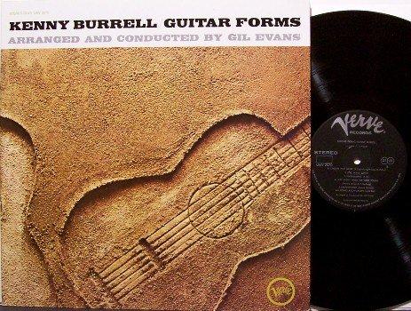 Burrell, Kenny - Guitar Forms - Japanese Vinyl LP Record - Japan Verve Jazz